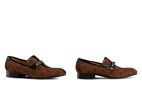 Gucci Suede Square G Loafers - Bloomingdale's_2