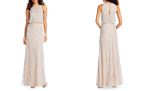 Adrianna Papell Sleeveless Sequin Gown - Bloomingdale's_2