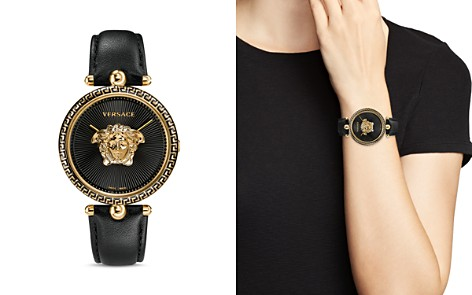 Versace Palazzo Black Empire Watch, 39mm - Bloomingdale's_2
