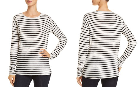 Theory Relaxed Stripe Top - Bloomingdale's_2