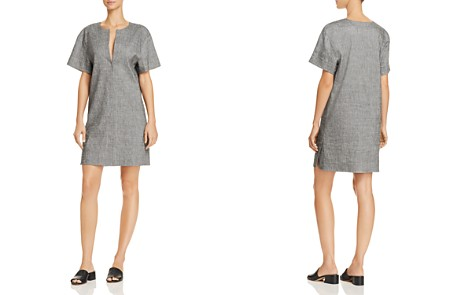 Theory Slit-Front Dress - Bloomingdale's_2