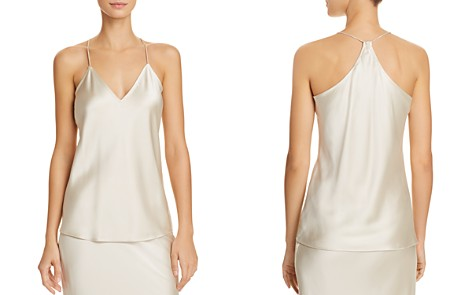 Theory Silk Camisole Top - Bloomingdale's_2