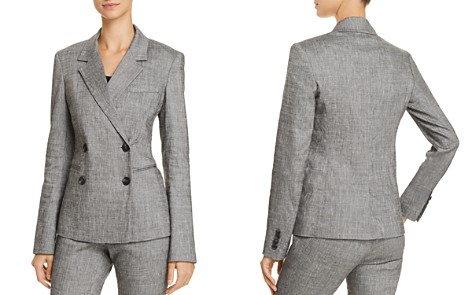 Theory Double Breasted Blazer - Bloomingdale's_2