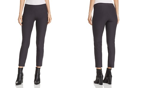 Eileen Fisher Slim Pull-On Ankle Pants - Bloomingdale's_2