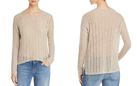 Eileen Fisher Drop-Stitch Sweater - Bloomingdale's_2