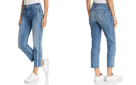7 For All Mankind Edie Frayed-Seam Skinny Jeans in Canyon Ranch - Bloomingdale's_2