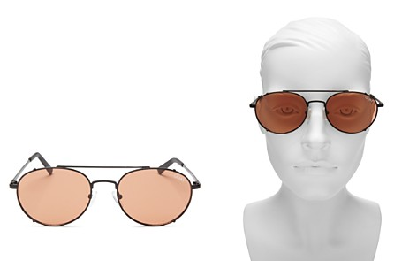 Quay Little J Aviator Sunglasses, 45mm - Bloomingdale's_2