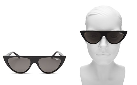 Quay Runaway Cat Eye Sunglasses, 47mm - Bloomingdale's_2