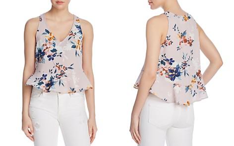 Sadie & Sage Floral-Print Peplum Top - 100% Exclusive - Bloomingdale's_2