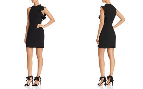 Black Halo Pabla Ruffle-Trim Mini Dress - Bloomingdale's_2