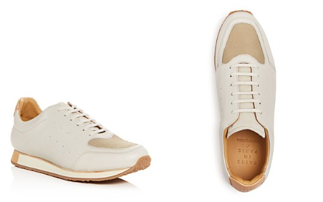 Pairs in Paris Men's No. 21 Leather Lace Up Sneakers - 100% Exclusive - Bloomingdale's_2