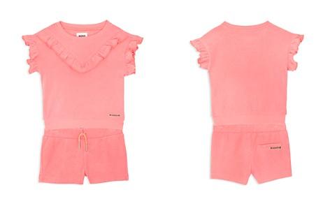 Hudson Girls' Flutter-Sleeve Sweatshirt & Terry Shorts Set - Baby - Bloomingdale's_2