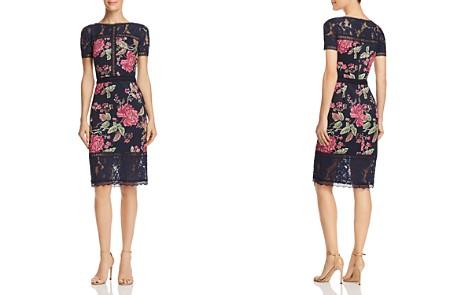 Tadashi Shoji Petites Floral Neoprene Dress - Bloomingdale's_2