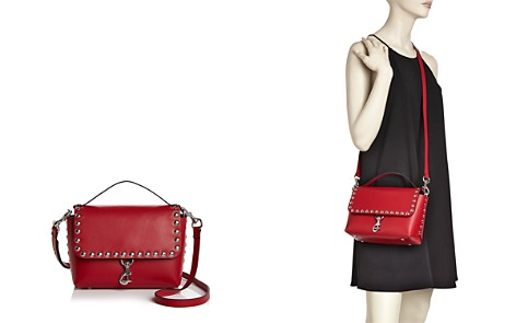 Rebecca Minkoff Blythe Studded Leather Flap Crossbody - Bloomingdale's_2