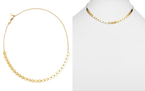 "Moon & Meadow Disc Choker Necklace in 14K Yellow Gold, 16"" - 100% Exclusive - Bloomingdale's_2"
