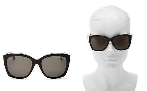 Bottega Veneta Anti-Reflective Cat Eye Sunglasses, 58mm - Bloomingdale's_2