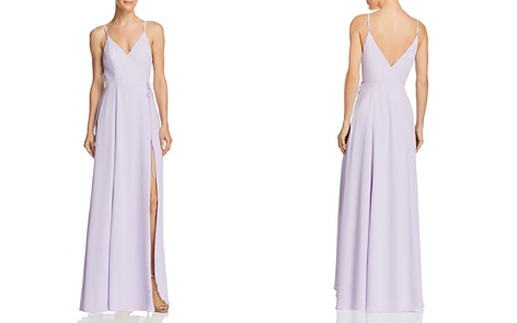 Fame and Partners The Tilbury Wrap Gown - 100% Exclusive - Bloomingdale's_2