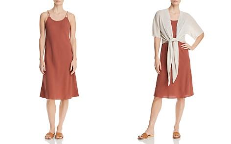 Eileen Fisher Silk Slip Dress - Bloomingdale's_2