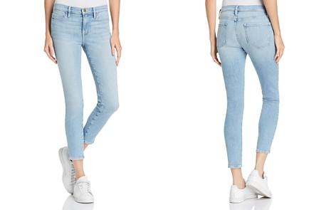FRAME Le Skinny de Jeanne Crop Skinny Jeans in Firefly - 100% Exclusive - Bloomingdale's_2