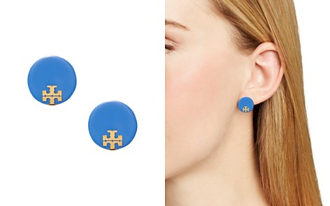 Tory Burch Logo Stud Earrings - Bloomingdale's_2