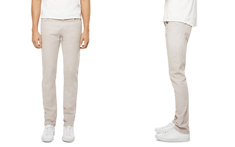 J Brand Kane Straight Fit Jeans in Calcite - Bloomingdale's_2