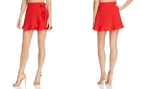 Show Me Your MuMu Roam Mini Wrap Skirt - Bloomingdale's_2