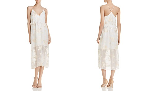 Elliatt Concert Embroidered Chiffon Dress - Bloomingdale's_2