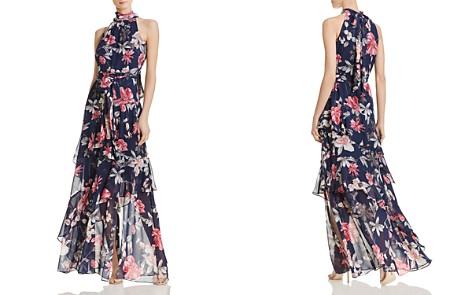 Eliza J Tiered Floral Gown - Bloomingdale's_2