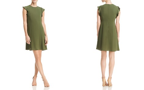 MICHAEL Michael Kors Seamed Flounce Dress - Bloomingdale's_2