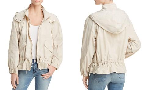 Donna Karan Hooded Zip Jacket - Bloomingdale's_2