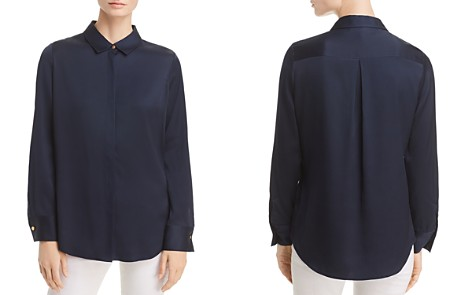 Donna Karan New York Long-Sleeve Button-Down Top - Bloomingdale's_2