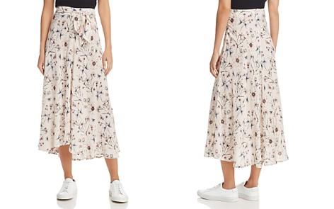 Velvet by Graham & Spencer Swan Floral Print Midi Skirt - Bloomingdale's_2
