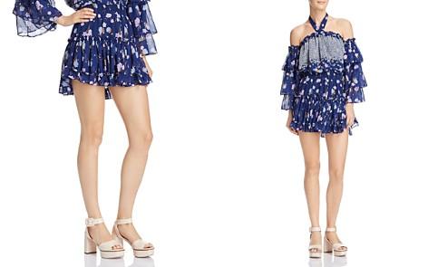 MISA Los Angeles Rianne Floral Mini Skirt - Bloomingdale's_2
