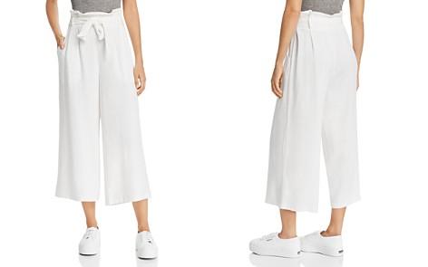 AQUA Paperbag-Waist Wide-Leg Pants - 100% Exclusive - Bloomingdale's_2