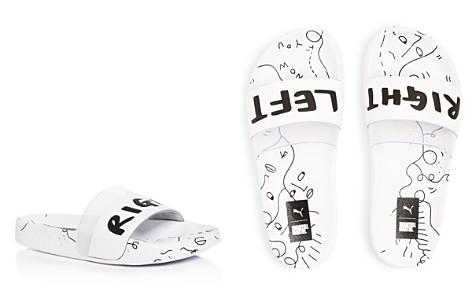 PUMA Women's Shantell Martin Leadcat Pool Slide Sandals - Bloomingdale's_2