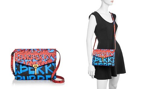 Burberry Small Macken Graffiti Print Leather Crossbody - Bloomingdale's_2