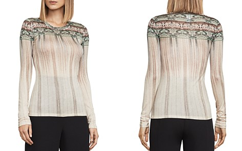 BCBGMAXAZRIA Asher Printed Jersey Top - Bloomingdale's_2