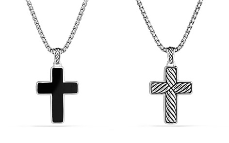 David Yurman Exotic Stone Cross with Black Onyx - Bloomingdale's_2