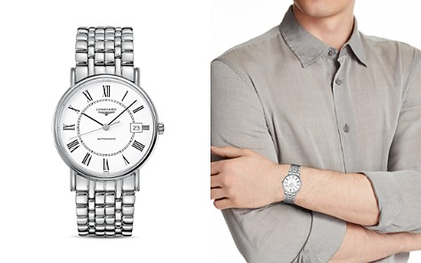 Longines Presences Watch, 38.5mm - Bloomingdale's_2