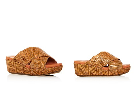 Gentle Souls Women's Mikenzie Woven Platform Slide Sandals - Bloomingdale's_2