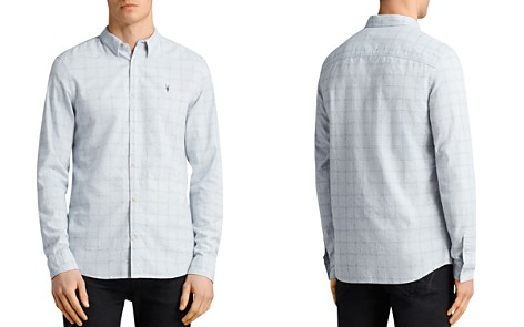 ALLSAINTS Rowhill Regular Fit Button-Down Shirt - Bloomingdale's_2