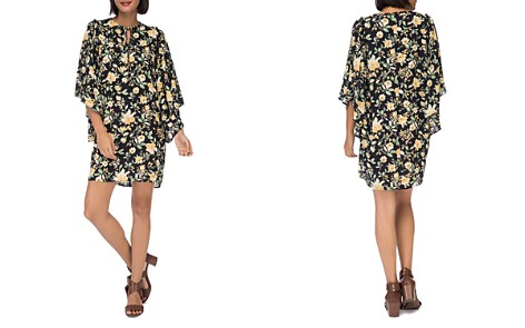 B Collection by Bobeau Morna Butterfly-Sleeve Dress - Bloomingdale's_2