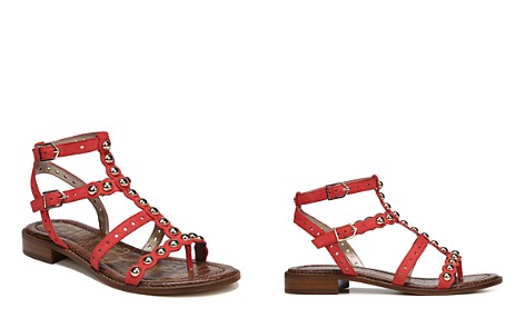 Sam Edelman Women's Elisa Studded Suede Sandals - Bloomingdale's_2