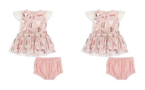 Stella McCartney Girls' Mesh Metallic-Seashell Dress & Bloomers Set - Baby - Bloomingdale's_2