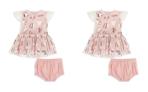 Stella McCartney Girls' Mesh Metallic-Seashell Dress & Bloomers Set - Baby - Bloomingdale's_2