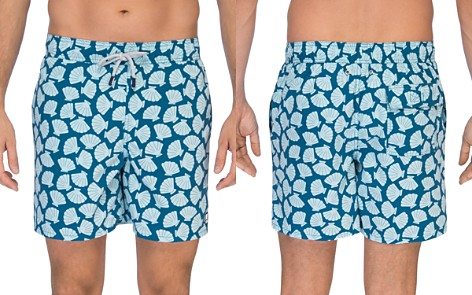 TOM & TEDDY Shell Print Swim Trunks - Bloomingdale's_2