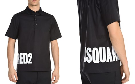 DSQUARED2 Wraparound Logo Polo Shirt - Bloomingdale's_2