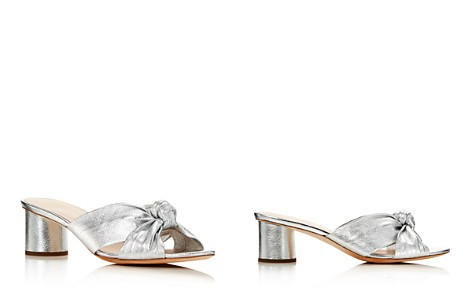 Loeffler Randall Women's Celeste Leather Block Heel Slide Sandals - Bloomingdale's_2