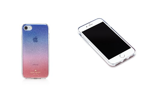 kate spade new york Ombré Sunset Glitter iPhone 7/8 Case - Bloomingdale's_2