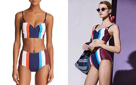 Mei L'ange Aurora Structured Bikini Top & Aurora High Waist Bikini Bottom - Bloomingdale's_2